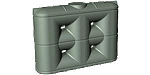 2000 Litre Enviro Poly Slimline Water Tank