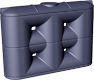 Slimline Poly Rainwater Tank