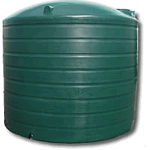 10,000 Litre Poly Round Water Tank