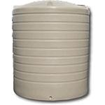 7000 Litre Poly Round Rainwater Tank