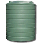 4000 Litre Poly Round Water Tank