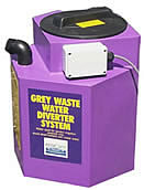 Grtey water waste system