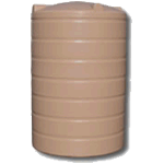 2000 Litre Precision Poly Round RainwaterTank