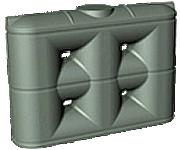 2000 Litre slim rainwater tank