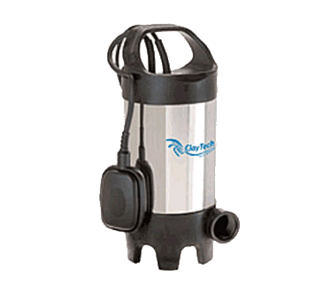 Claytech ProVort 540 Submersible Grey Water Sullage Pump