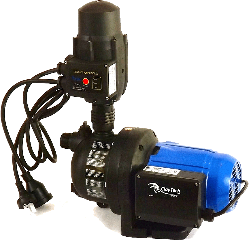 claytech garden pump