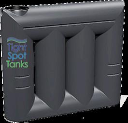2000L Slim Water Storage Tank