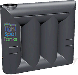 2000L Slim Water Storage Tank