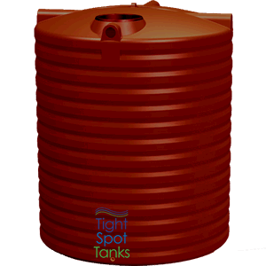 5000 Litre All weather round water tank