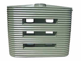 2000 Litre Corrugated Slimline Water Tank