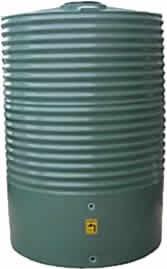 2200 Litre Round Rainwater Tank