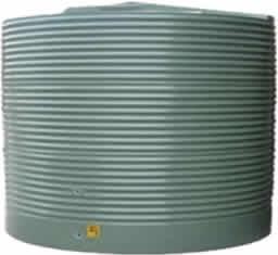 3600 Litre Round Corrugated Rainwater Storage Tank