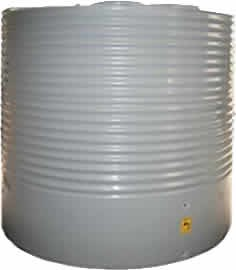 4500 litre corrugated round water tank