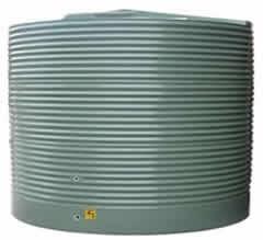 5000 litre round corrugated rain water tank