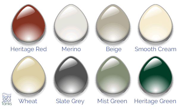 slimlinetank colour chart