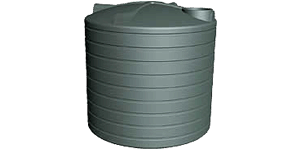 10000 Litre Round Water Tank