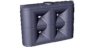 2000 Litre Tall Poly Slimline Tank