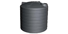 5000 Litre Round Poly Enviro Rainwater Tank