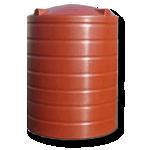 3000 Litre Poly Round Water StorageTank