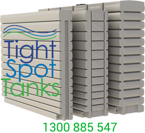 thin rainwater tanks