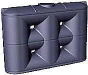 2000 Litre Tall Slimline Rainwater Tank