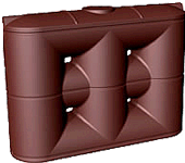 4000 litre slim water tank