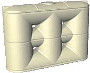 5000 litre Slimline rainwater tank