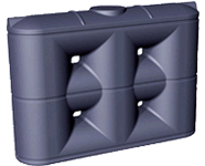 Poly Rainwater Tank 3000 Litre Slimline