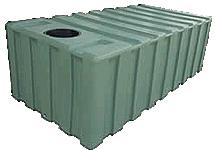 Under Deck 2000 Litre Rainwater Tank