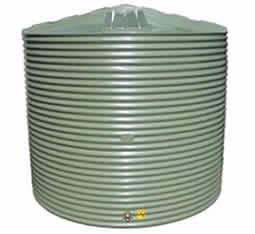 10000 litre corrugated round rain water storage tank