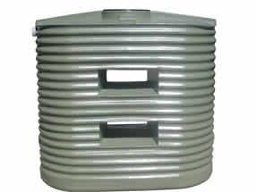 1250 Litre Corrugated Slimline Water Tank