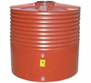 1400 Litre Squat Round Water Storage Tank