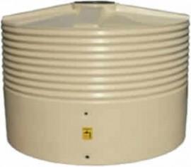 3000 Litre Round Squat Rainwater Tank